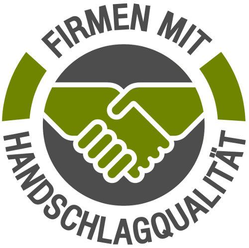 GROSZ - logo firmen mit handschlag HQ